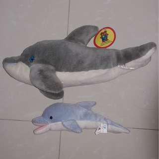 Dolphin Plushie Set