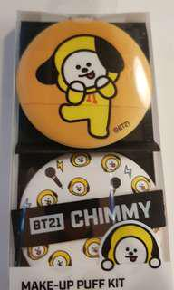 [INSTOCK] BT21 CHIMMY Make-Up Puff