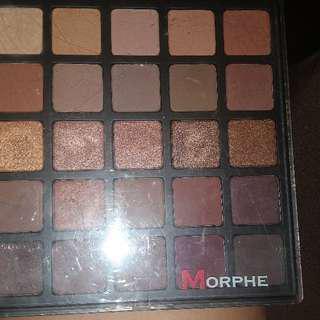 Authentic Morphe 25b bronzed mocha palette