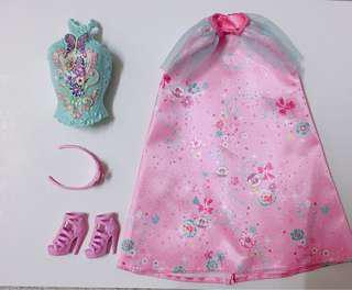 Barbie Fairy clothes set