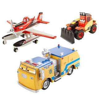 Brand New Disney Planes Fire and Rescue Diecast Vehicles 3-pack