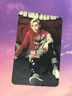 B.A.P Jong Up Matrix Young, Wild & Free Mini Album Official Photocard