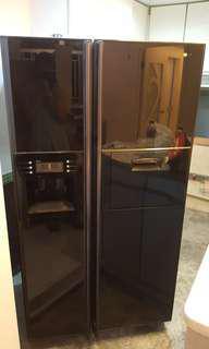 三星自动製冰雪櫃及煤气煮食爐
