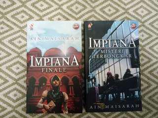 (2 for 1price)Impiana Misteri Terbongkar & Impiana Finale by Ain Maisarah