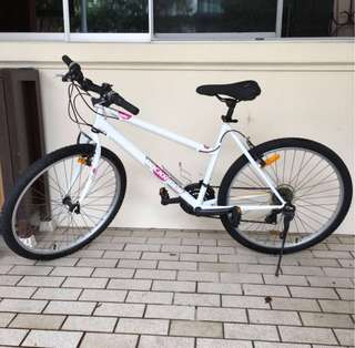 Women's bike almost brand new