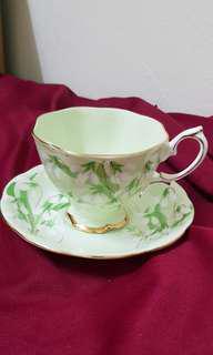 Royal Albert 'Laurentian Snowdrop' Cup & Saucer (2nd Grade)