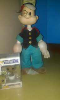 Vintage 16 Inch Popeye Toy/Collectible