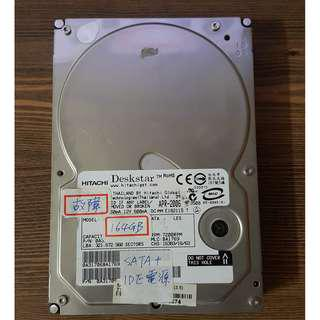 🚚 HDD (Bad track) (malfunction) (damage) (not functioning)故障硬碟 報帳、銷帳WD 3.5吋 HDD SATA 164GB