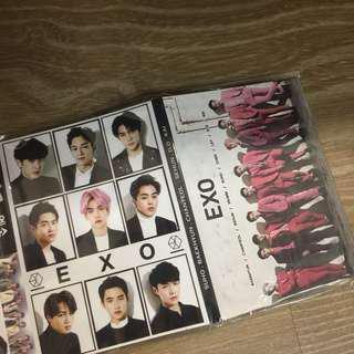EXO (全員)便利貼