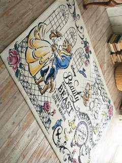 NEW beauty & the beast 美女與野獸地毯130x180cm rugs carpets
