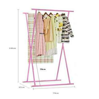🔥HOT ITEM🔥ASOTV X Shape Clothes Drying Rack [ C018 ]