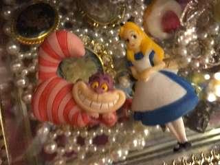 絕版 愛麗絲 扭蛋磁鐵