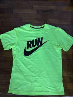 Nike RUN logo dri-fit Top