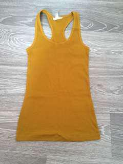 Forever 21 Mustard top #augpayday