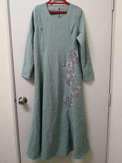 Embroidered Jubah size S