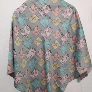 Hijab segi4 motif