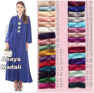 INSTOCK! Abaya madali long sleeve