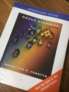 Group Dynamics PL3240 Textbook