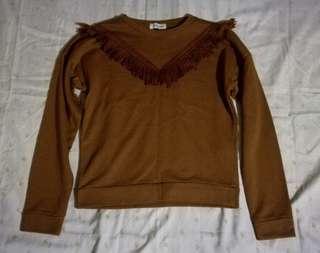 Coachella inspired pullover