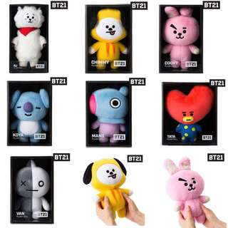 BT21 Standing Doll (Authentic)