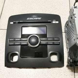 全新FORD Escape原廠音響主機,便宜,現貨,福特,Panasonic,松下音響,升級,汽車音響,mp3,Fm