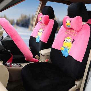 Minion Car Seat Covers