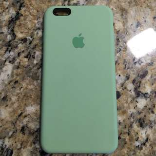 apple silicone case MINT