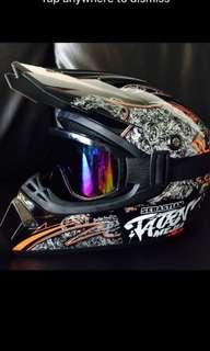 Motorcross mountain bike full face Helmet