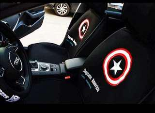 Captain America Car Seat Cover