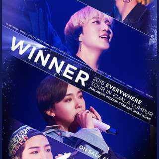 [TICKET SALE] WINNER EVERYWHERE KL TOUR 14/10