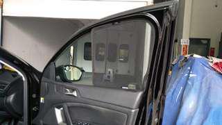 Quality Magnetic sunshades for 2013-Present Peugeot 308 (T9) Hatchback