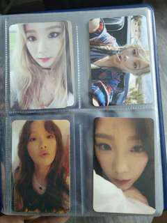 Taeyeon Official Photocards