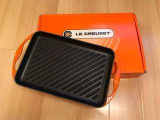 LE CREUSET Rectangular Grill