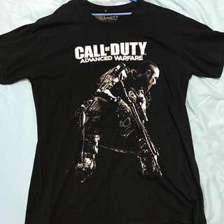 Authentic Call of Duty Advanced Warfare T Shirt (Black)