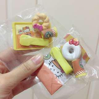 Hello Kitty doughnut 🍩 2款$20