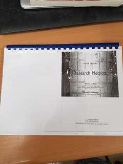 HP1100 / HP2100 Psychology Statistics Photocopied Textbook