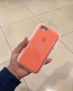 apple silicone case PEACH