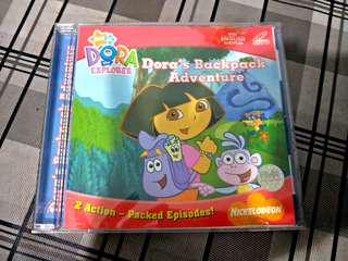 Free giveaway - Dora's backpack adventure VCD