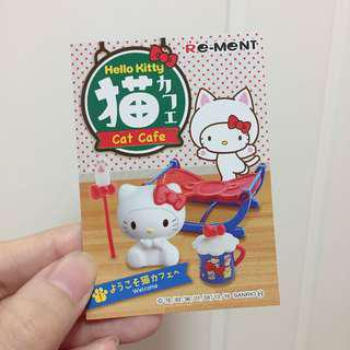 Hello Kitty Re-ment Cat Cafe
