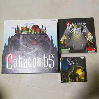 Catacombs 3rd Edition with Expansion