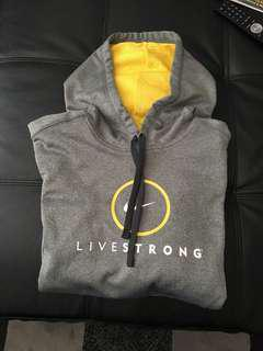 Nike Livestrong Dri-Fit Hoodie