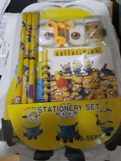 For Free!!! Worth of PHP200 of items and Up! Stationary Set Minions