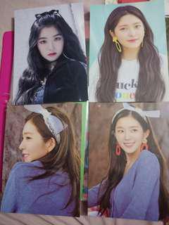 Red Velvet Postcards