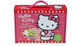 Hello Kitty Book & Floor Puzzle