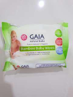 🚚 [FREE MAIL]BN Gaia Baby Wipes 20pc