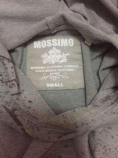 Mossimo Gray Hoodie Slim Fit Small