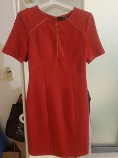 Dressing Paula Work Bodycon Knee Length dress