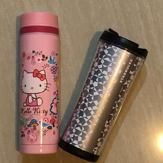 Starbucks + Lock & Lock Hello Kitty Tumbler