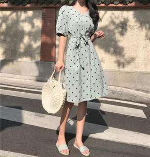 BN Woman Polka Dot Midi Dress #under90
