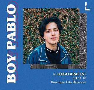 Lokatarafest boy pablo
